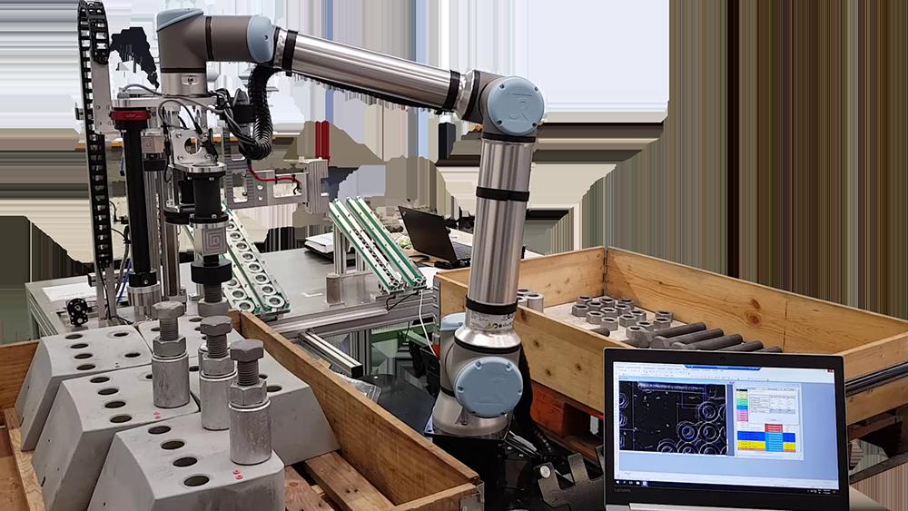Verschrauben Universal Robot