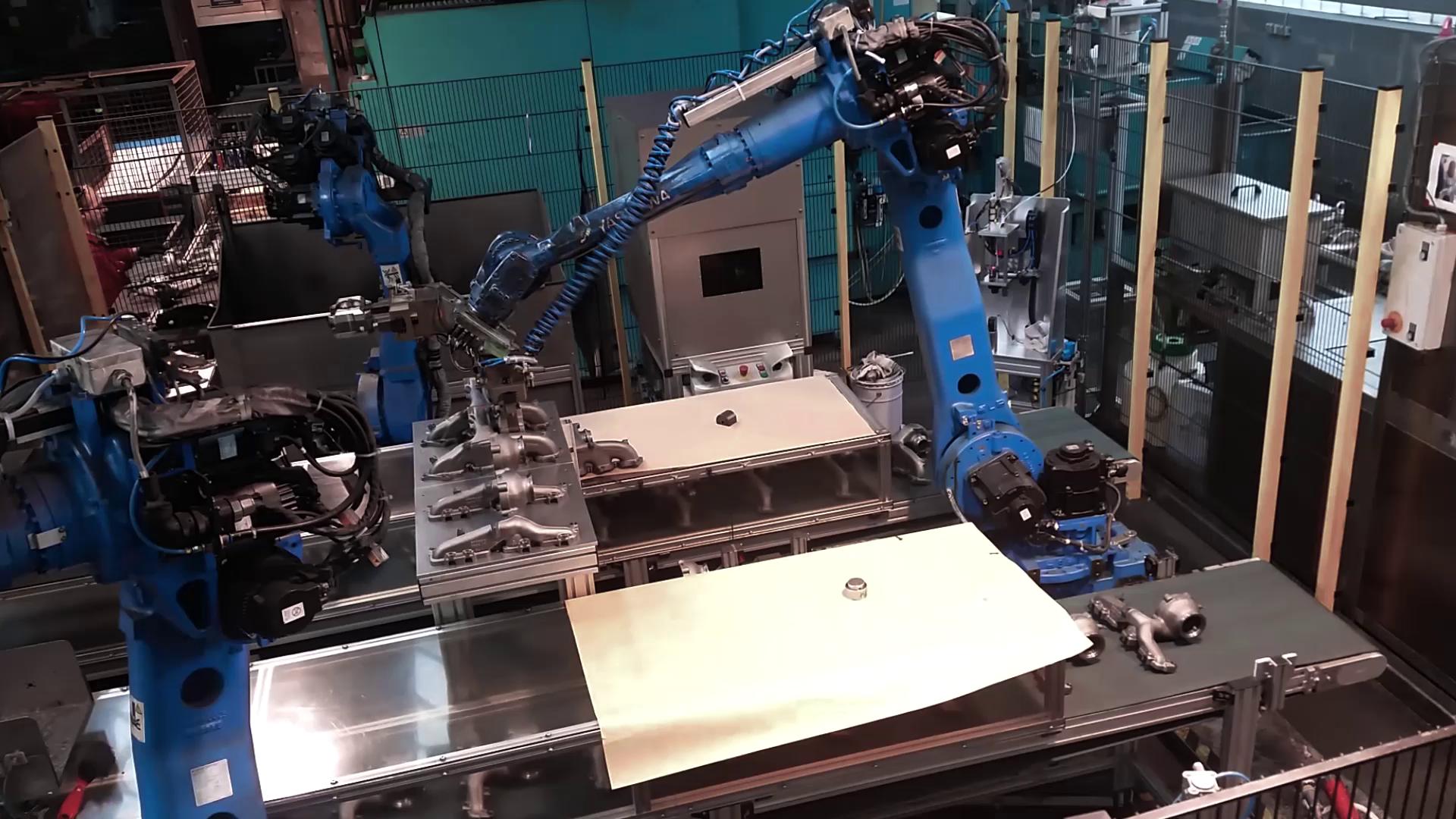 Robot Turbolader